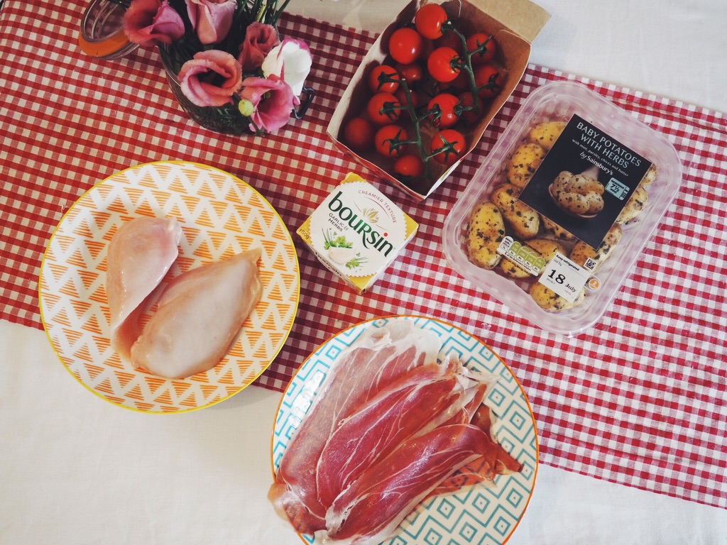 boursin, summerfood, recipepost, foodblog, foodblogger, PicnicDay, Ralaxationtime, boursincheese, chickenwrappedinparmaham, foodrecipe