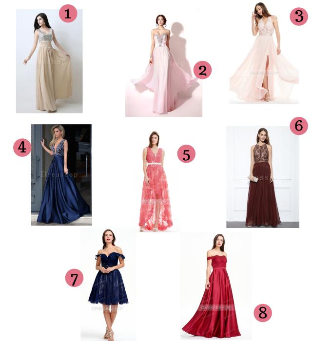 Melhores vestidos para baile e festa