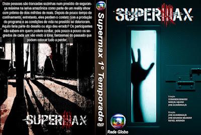 Série Supermax 1º Temporada HDTV 720p Nacional DVD Capa