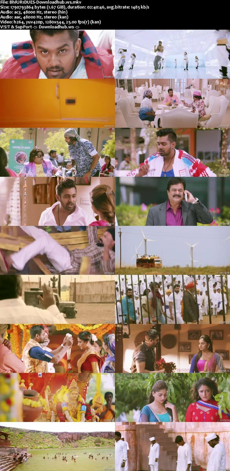 Bharjari 2017 UNCUT Hindi Dual Audio 720p HDRip Download