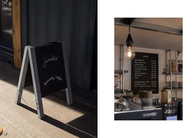 Jonah's Coffee Bar, at preston box market, speciality coffee uclan