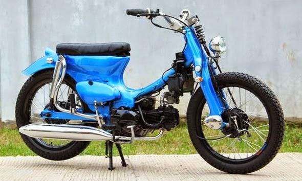 Top modifikasi motor honda bebek 70