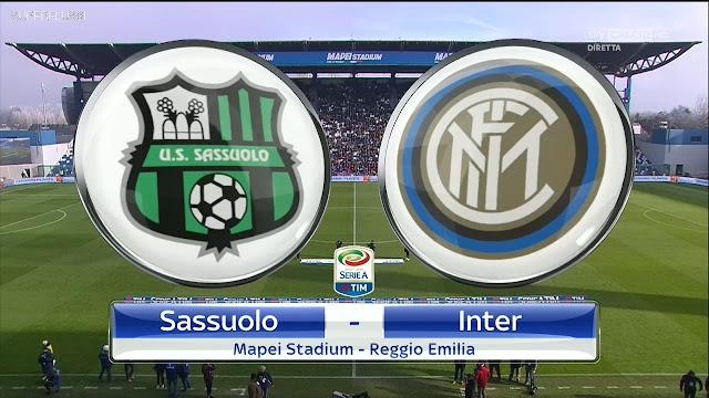 Prediksi Pertandingan Liga Italia Sassuolo vs Internazionale Milan