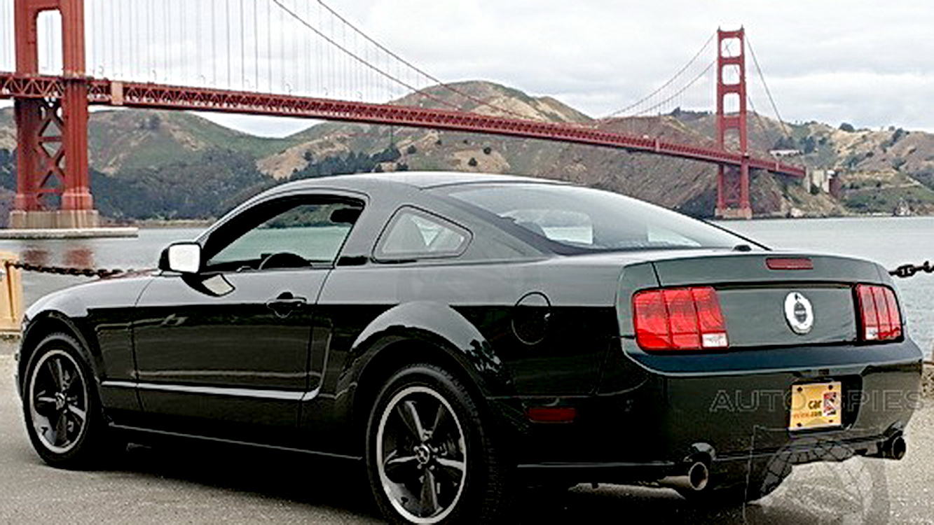 fastest ford mustang part 9 2008 mustang bullitt. Black Bedroom Furniture Sets. Home Design Ideas