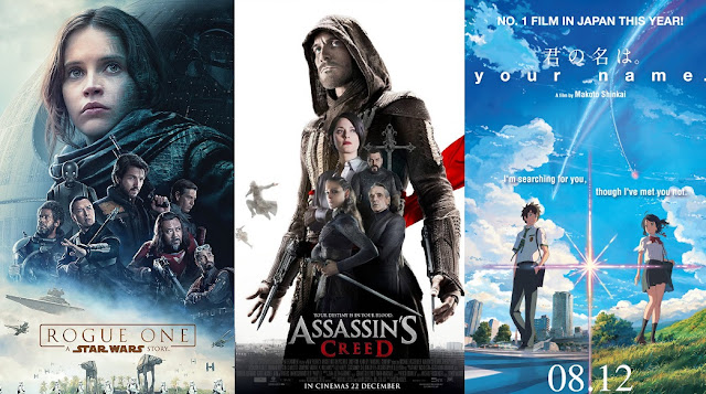 coming soon malaysia december 2016 rogue one assassin's creed your name