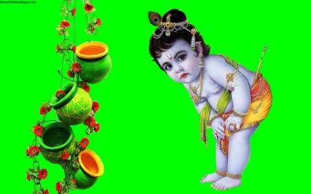 Lord bal krishna hd wallpaper new