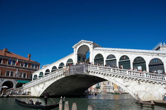Wenecja, Włochy, podróże, popularny most