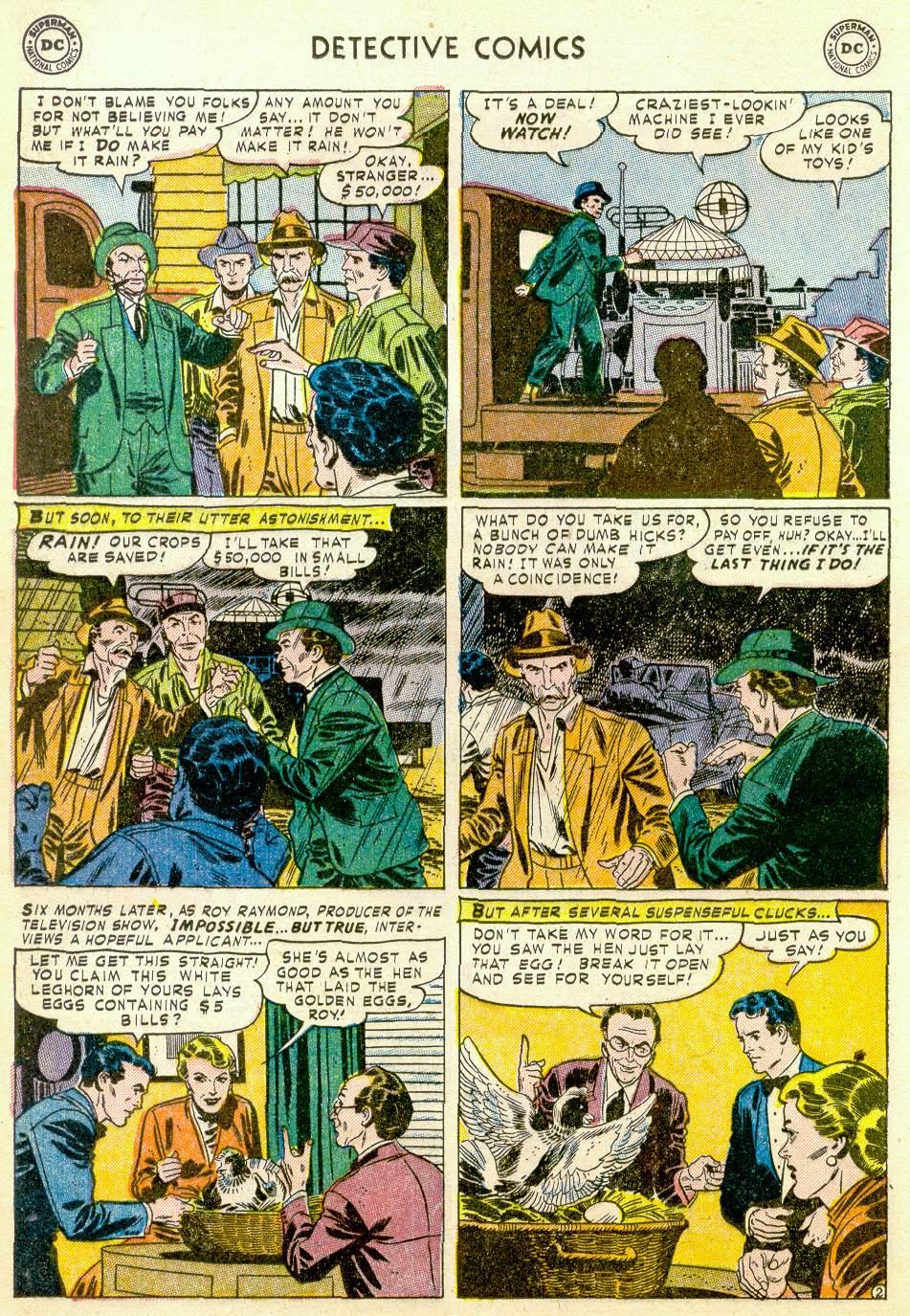 Read online Detective Comics (1937) comic -  Issue #184 - 18