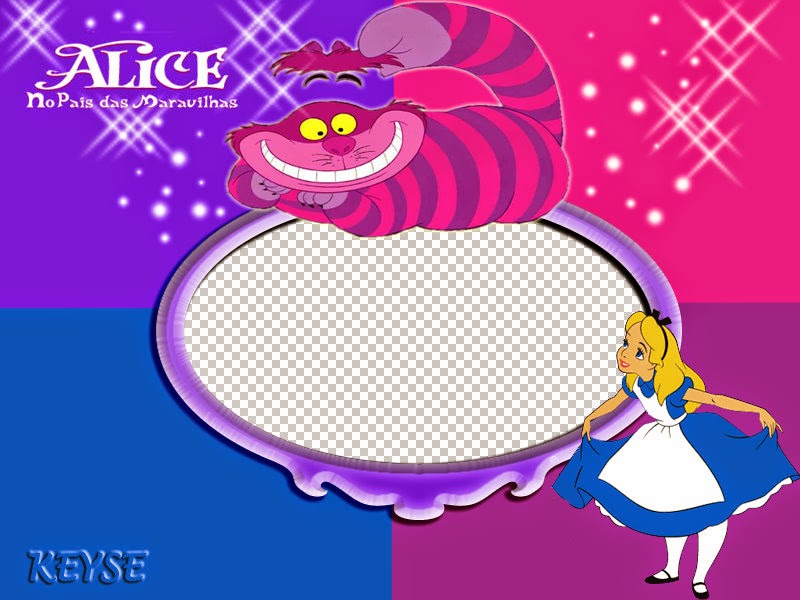 Alice in Wonderland: Free Printable Images and Cards.