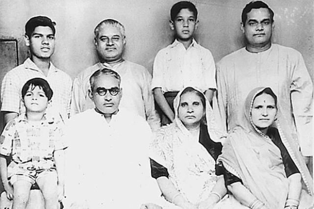 Atal Bihari Vajpayee family