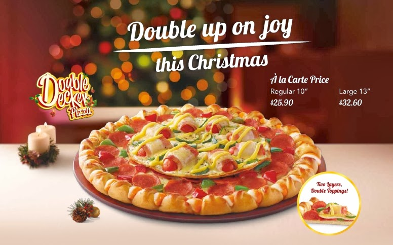 Is Pizza Hut Open On Christmas.Around The World Pizza Hut Singapore Double Decker