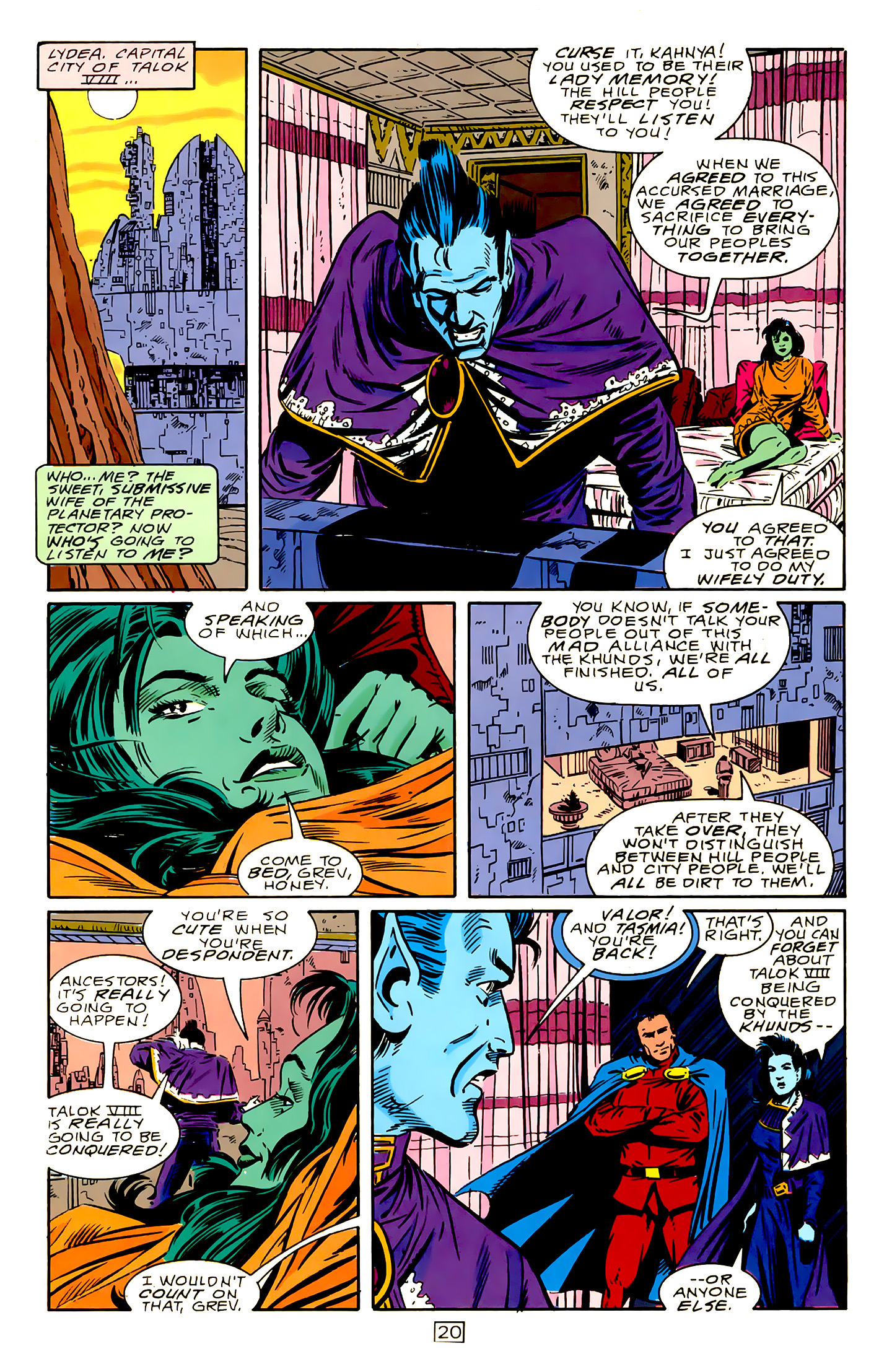 Legion of Super-Heroes (1989) 15 Page 20