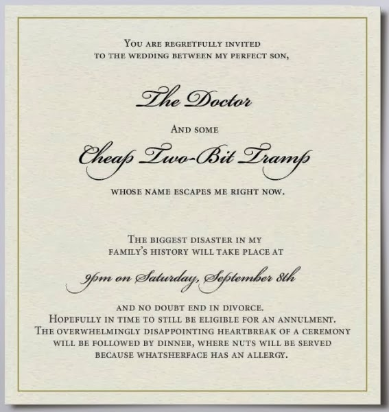 Undangan Pernikahan Inggris Invitation