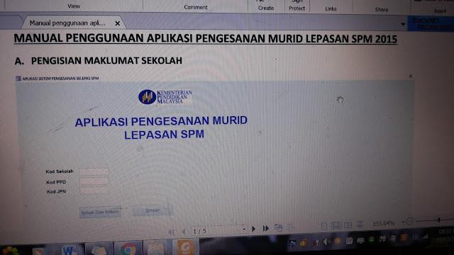 jejak spm, Taklimat dan Bengkel Aplikasi Data Pengesanan Murid Lepasan SPM 2015, spm 2015,