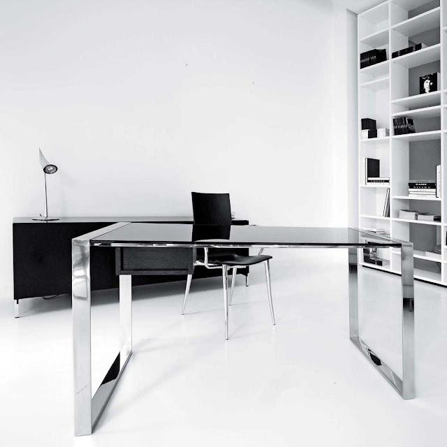 Bekerja tentu membutuhkan kawasan yang nyaman 25 Desain Meja Kantor Minimalis yang Modern dengan Harga Murah