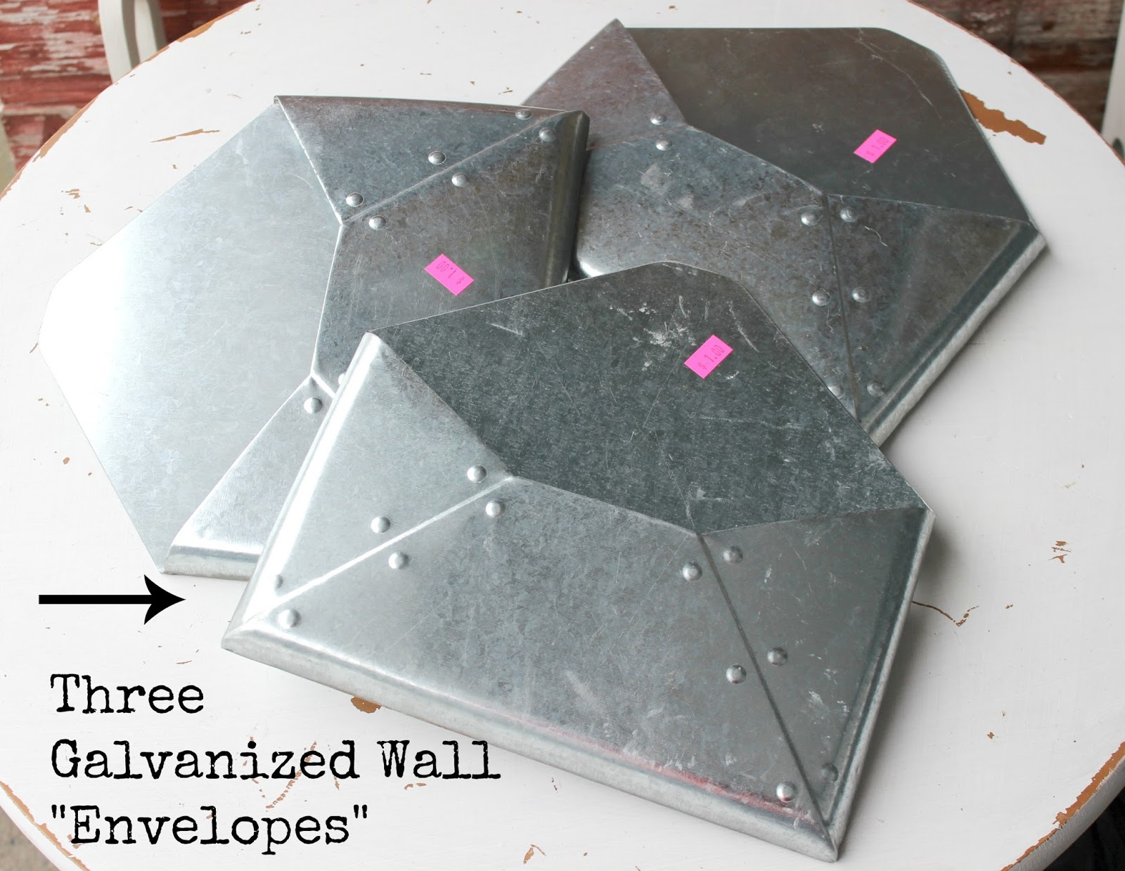Galvanized Envelope Wall Organizer Organized Clutter