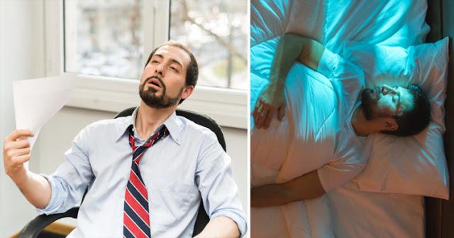Sintomas de privação do sono