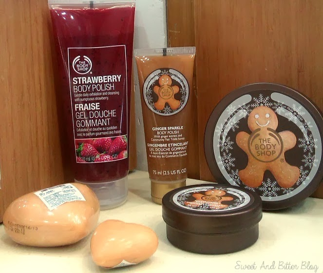 Body Shop Ginger Sparkle Tin Size Compare