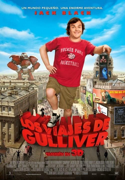 Capa do Filme As Viagens de Gulliver
