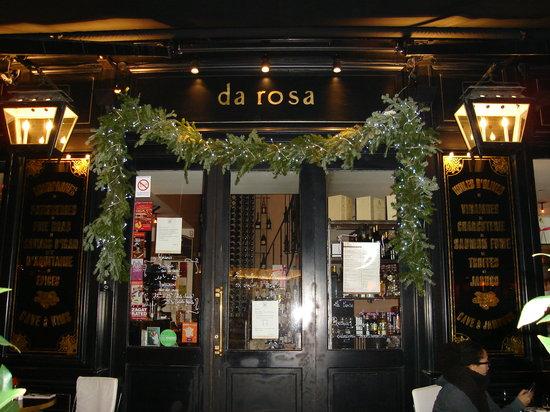 Comer no Da Rosa em Paris