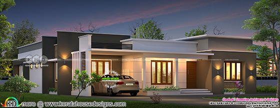 1500 sq-ft Villa design plan by Greenline Architects, Calicut
