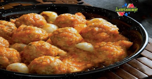 Albondigas en Salsa de Calabaza