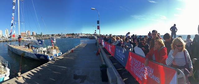 Regata Clipper Race: el Sanya Serenity Coast brilla en #PDE Uruguay