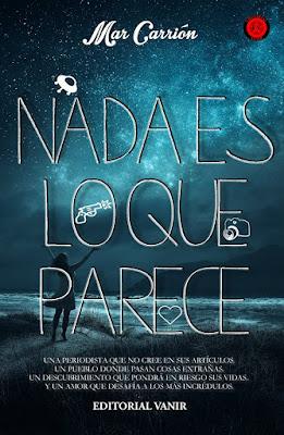 LIBRO - Nada es lo que parece  Mar Carrión (Vanir - 20 marzo 2016)  NOVELA ROMANTICA | Edición Digital Ebook Kindle  Comprar en Amazon España