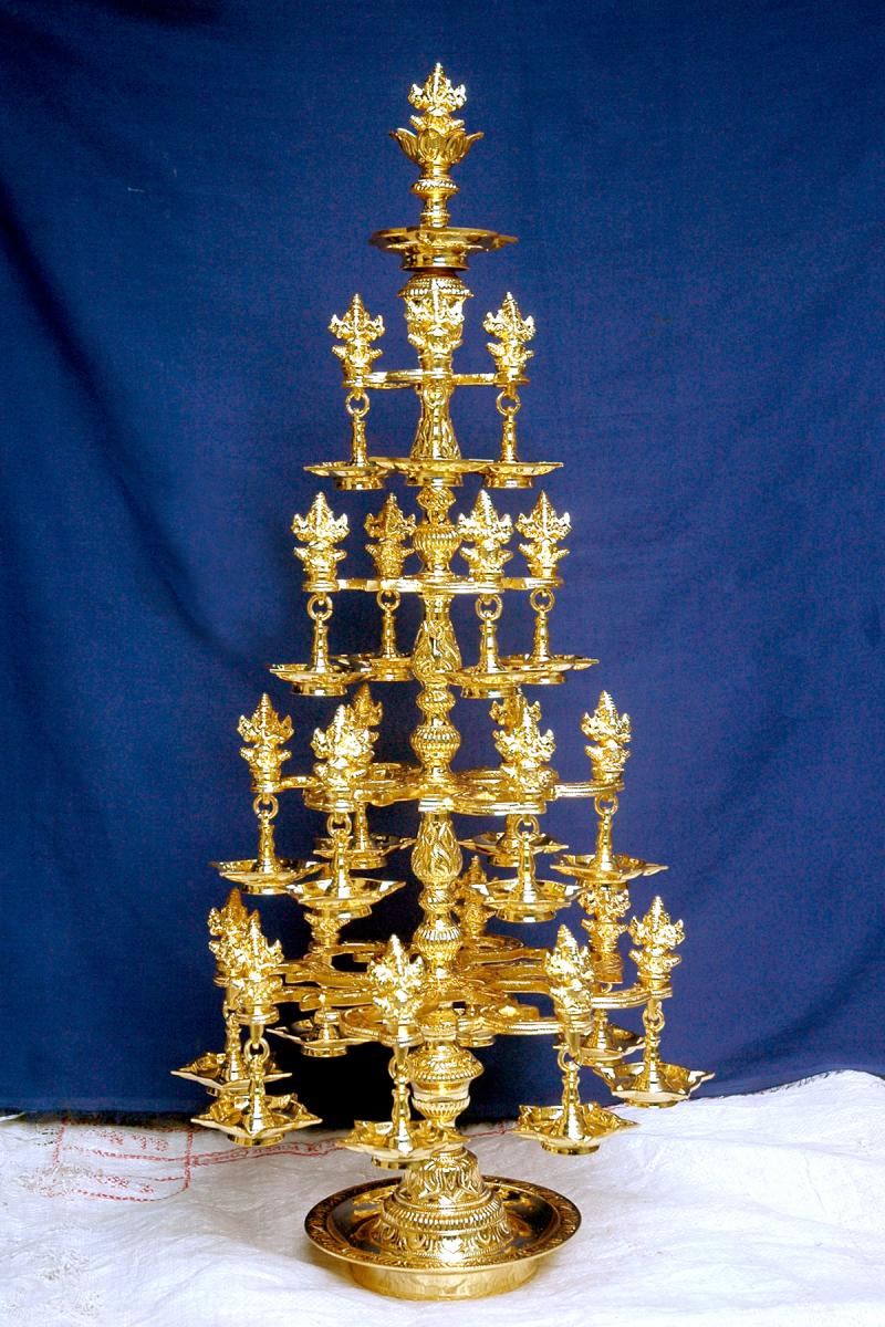 The Cultural Heritage Of India Brass Lamps Kutthu
