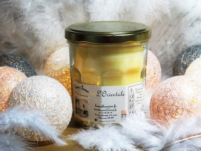 Avis L'Orientale de Bougies de Charroux, blog bougie, blog parfum, blog beauté