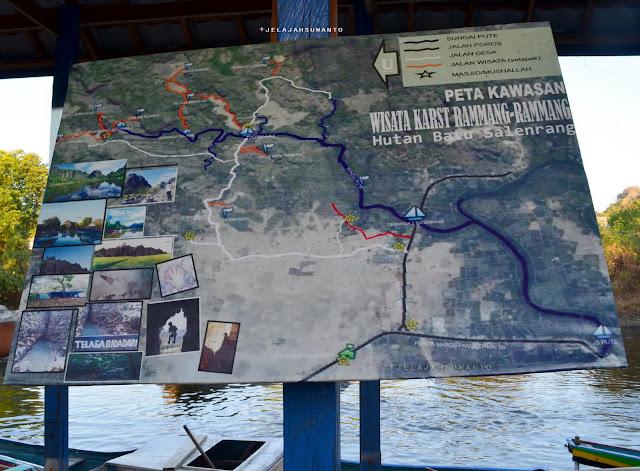 Objek Wisata Rammang-Rammang, Maros, Sulsel +jelajahsuwanto