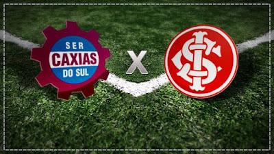 Jogo Caxias x Inter Ao Vivo na TV Globo pela semifinal do Gauchão.