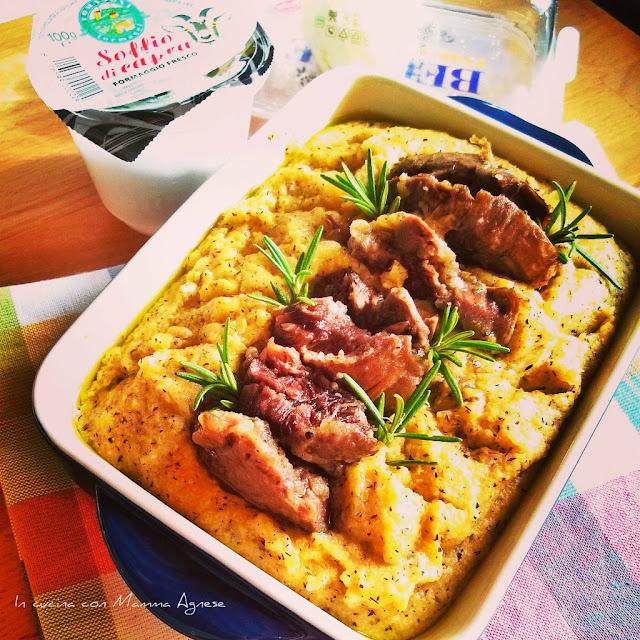 In Cucina Con Mamma Agnese: Polenta Taragna E Brasato Di