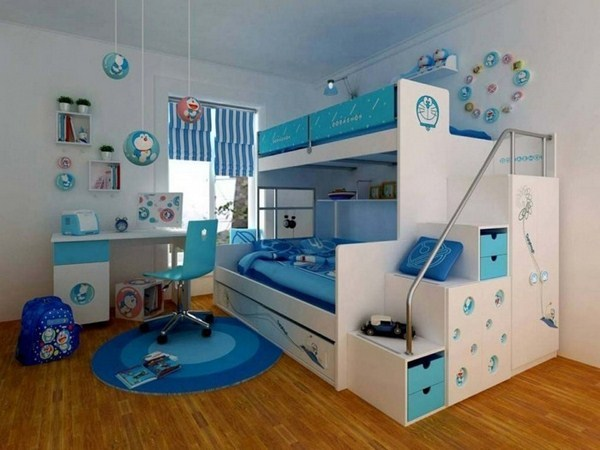 Loft Bed For Two Young Brother