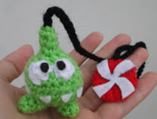 PATRON OM NOM (CUT THE ROPE) AMIGURUMI 2491