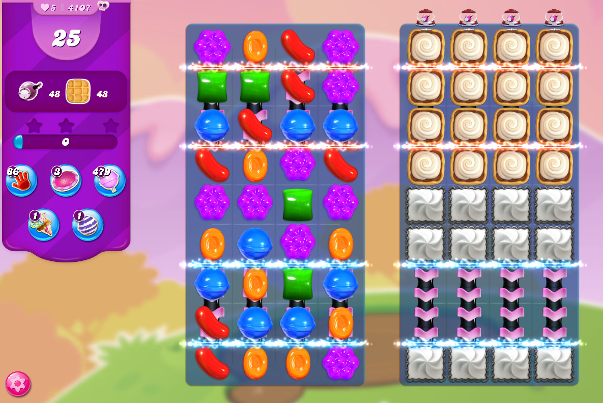 Candy Crush Saga level 4107