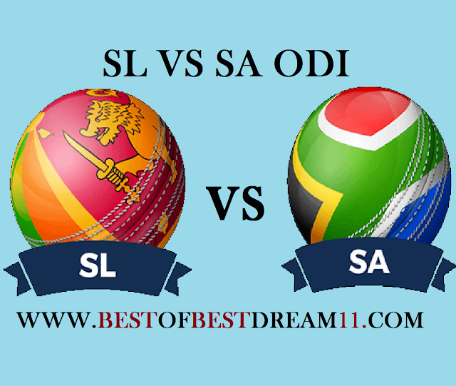 Sl vs SA dream11 team