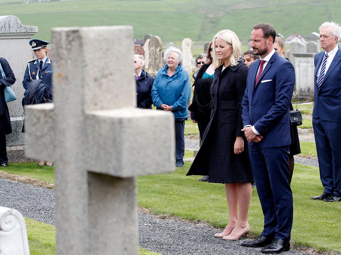 Кронпринц Хокон и кронпринцесса Метте -Марит совершают визит в Шотландию