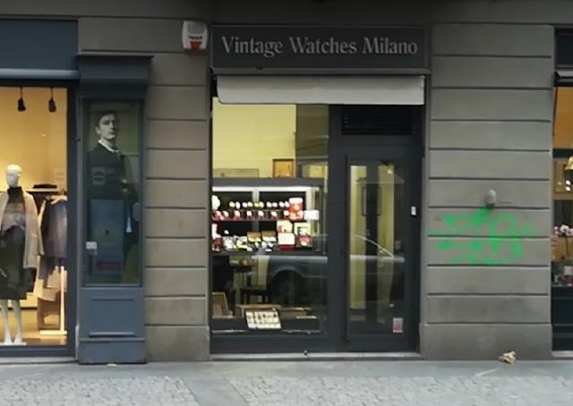 Loja da Vintage Watches Milano