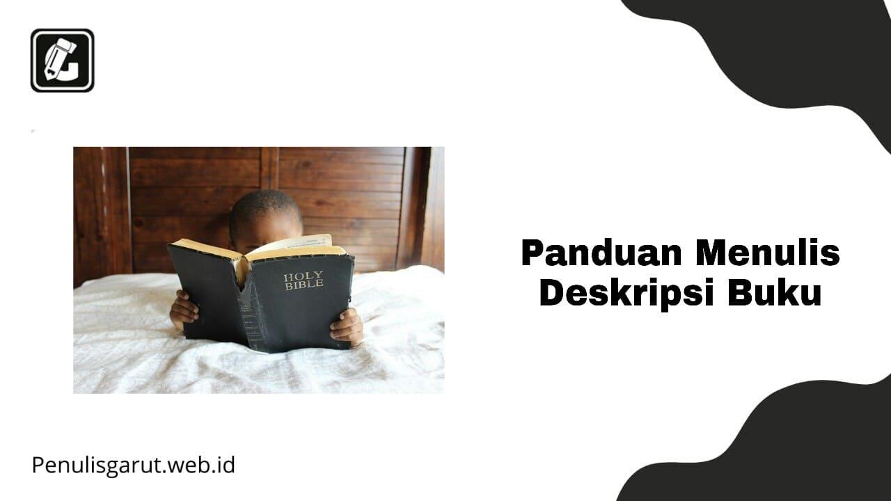 Menulis Deskripsi Buku