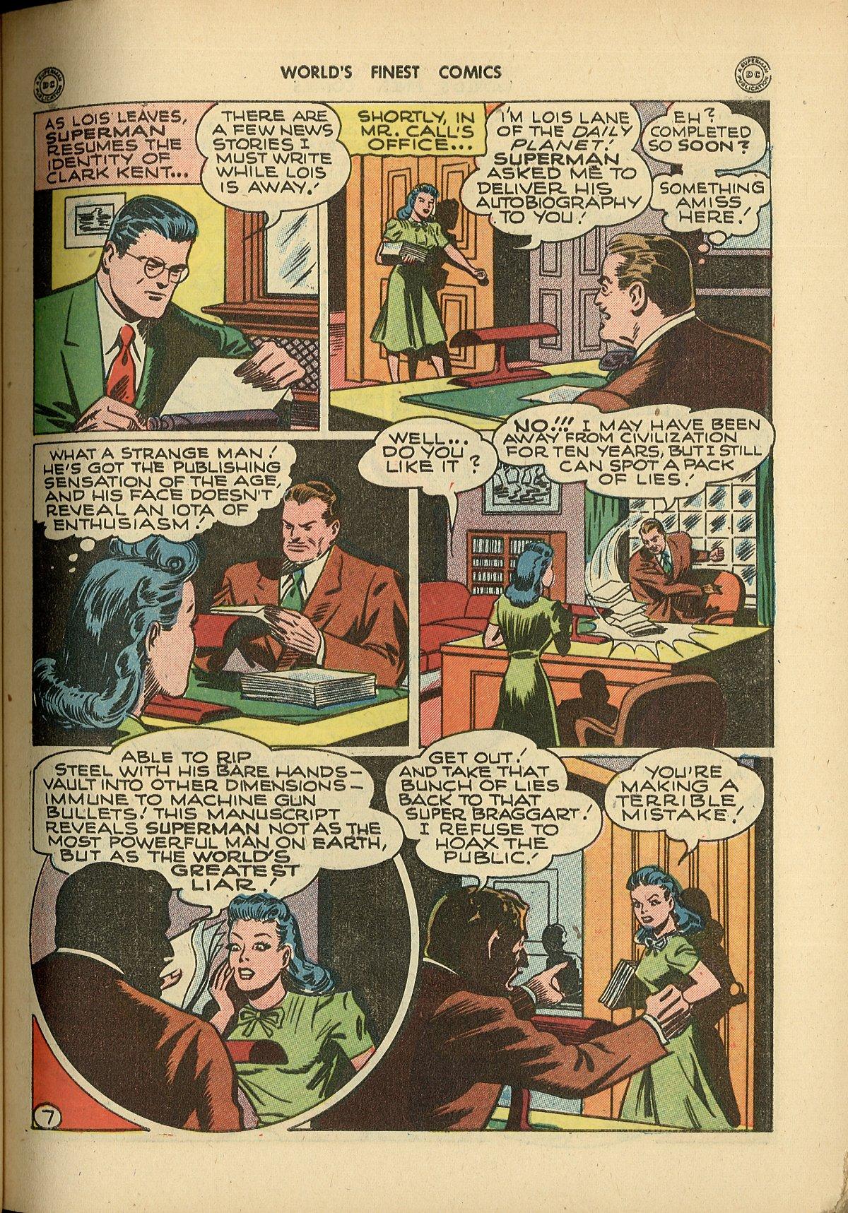 Read online World's Finest Comics comic -  Issue #26 - 9