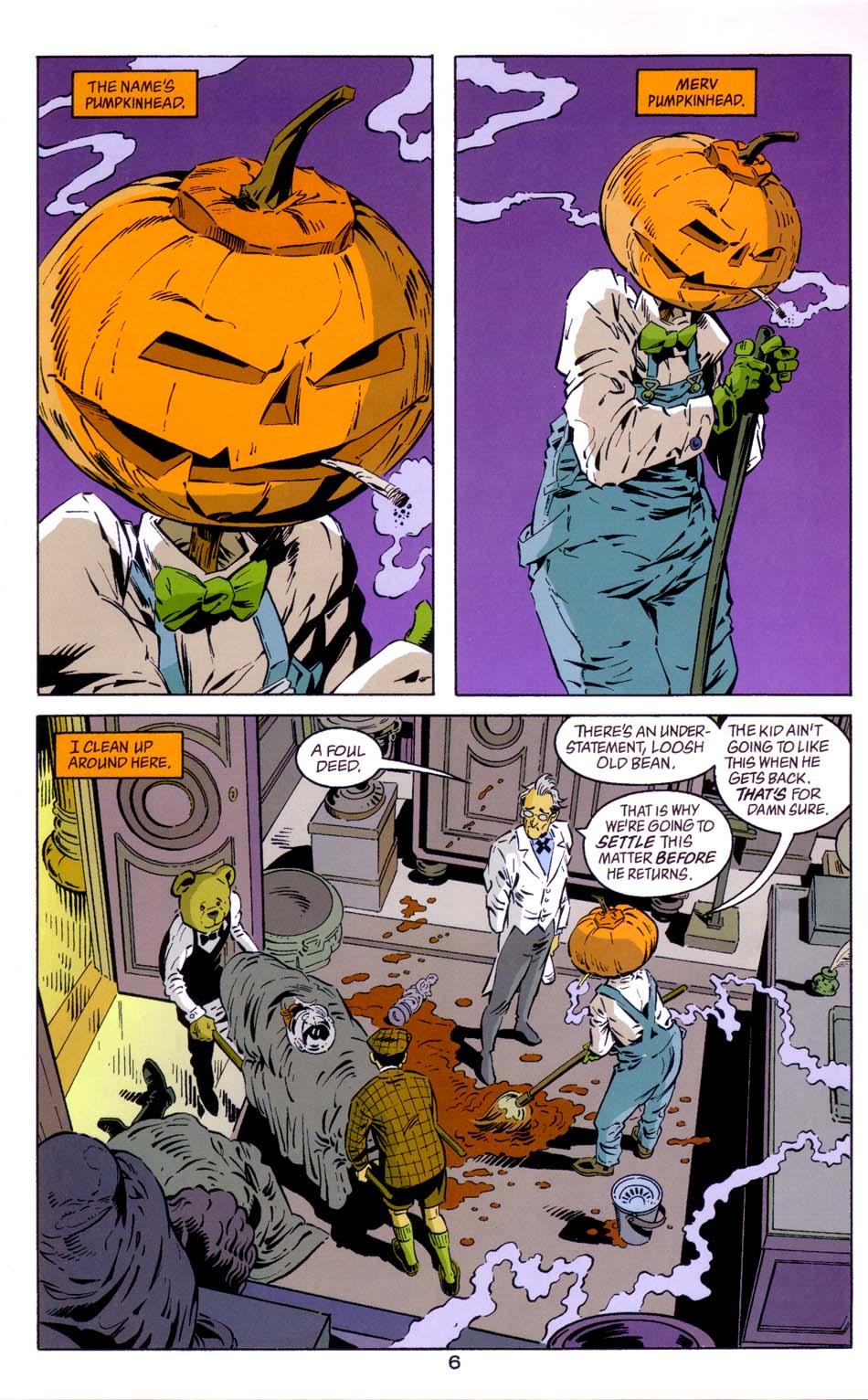 Read online Merv Pumpkinhead, Agent of D.R.E.A.M. comic -  Issue # Full - 8
