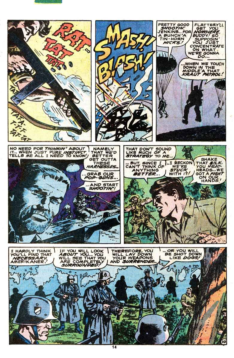 Read online Sgt. Fury comic -  Issue #164 - 16