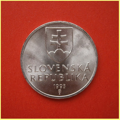 50 Hellers Corona Eslovaca