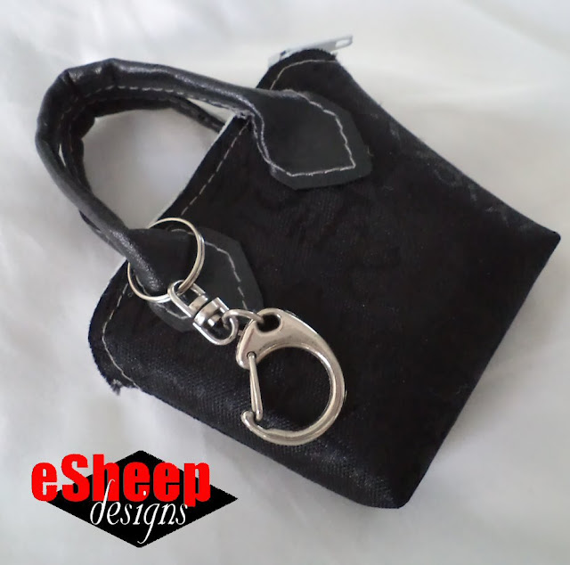 Miniature Purse crafted by eSheep Designs