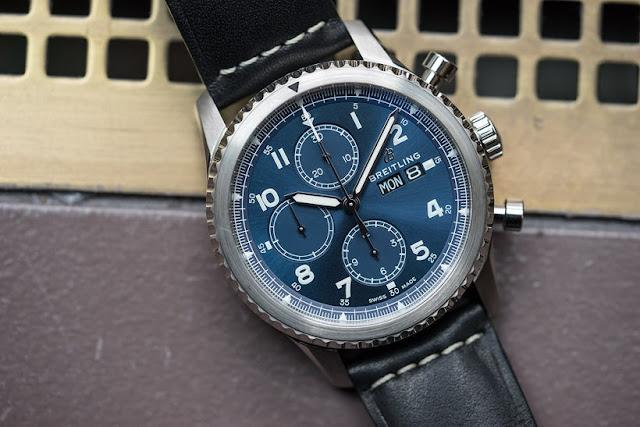 Breitling Navitimer 8 Chronograph 43 - Stainless-Steel, Blue Dial