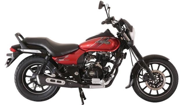 New 2018 Bajaj Avenger Street 180 black alloy wheel