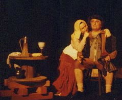 The alewife and the merchant in the play the Fool