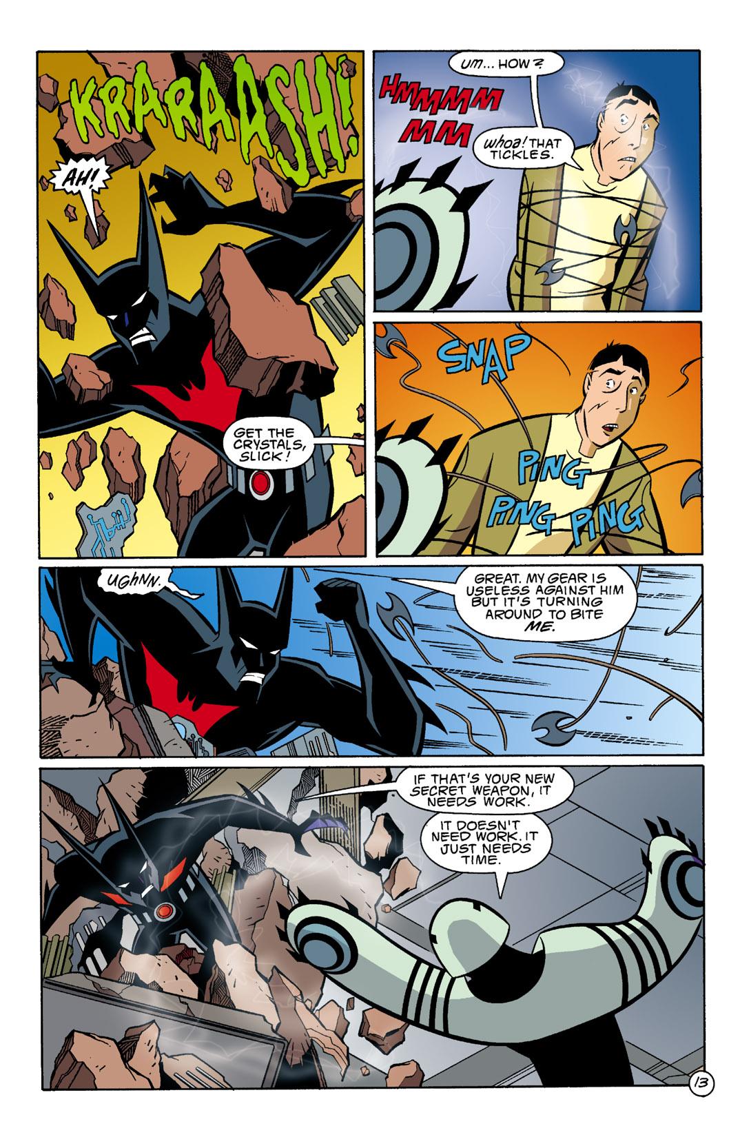 Batman Beyond [II] Issue #5 #5 - English 14