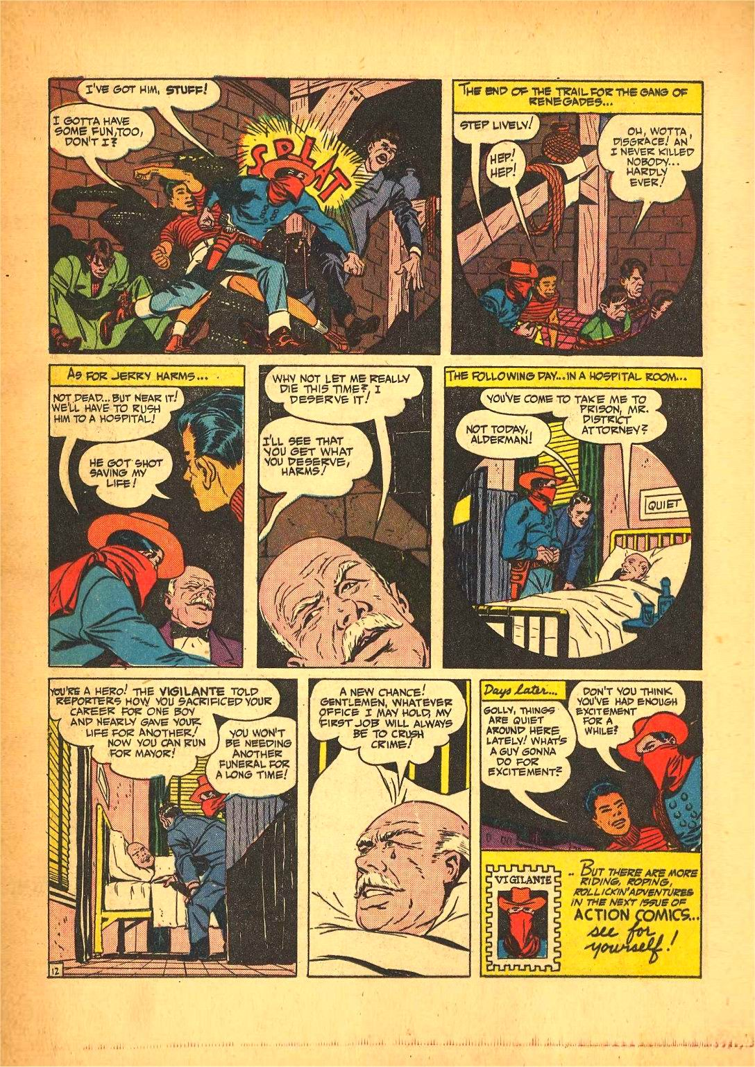 Read online Action Comics (1938) comic -  Issue #50 - 36